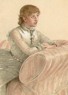 Vanity Fair Portrait of Florence, 1884