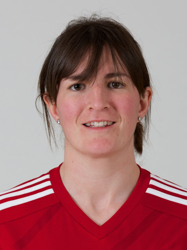 SWANSEA, WALES - Wednesday, March 5, 2014: Wales' Helen Ward. (Pic by David Rawcliffe/Propaganda) Taken from FAW Website