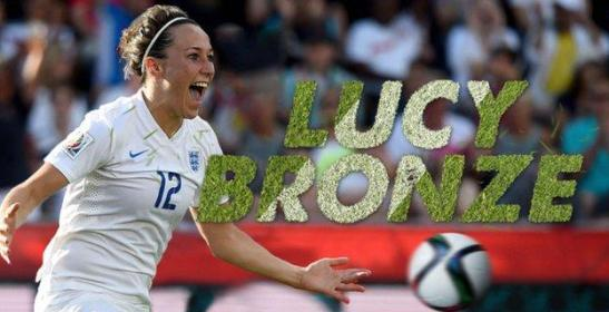 I will be voting for Lucy Bronze for SPOTY.