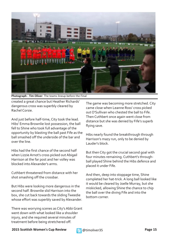 2015 Scottish Women's Cup - Page 15