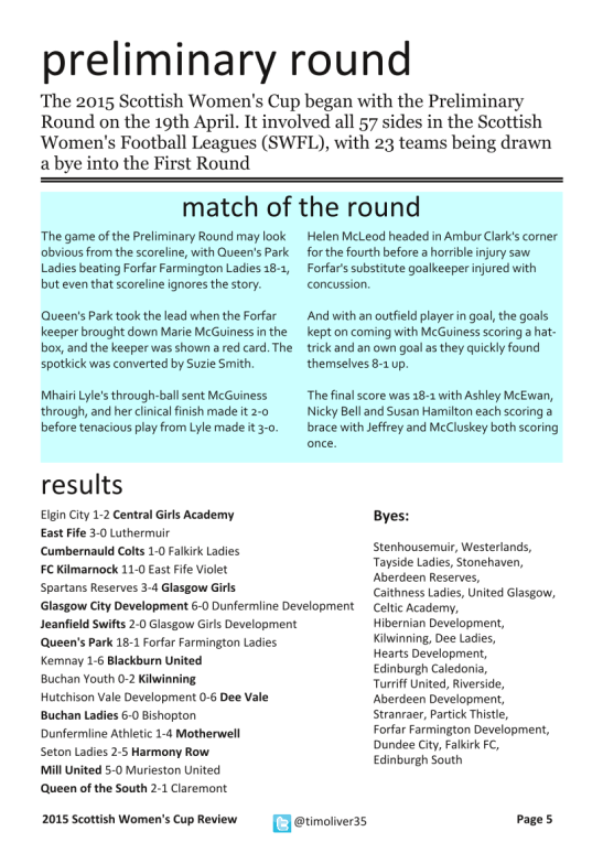 2015 Scottish Women's Cup - Page 5
