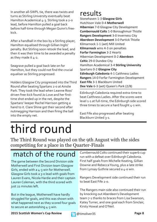 2015 Scottish Women's Cup - Page 8